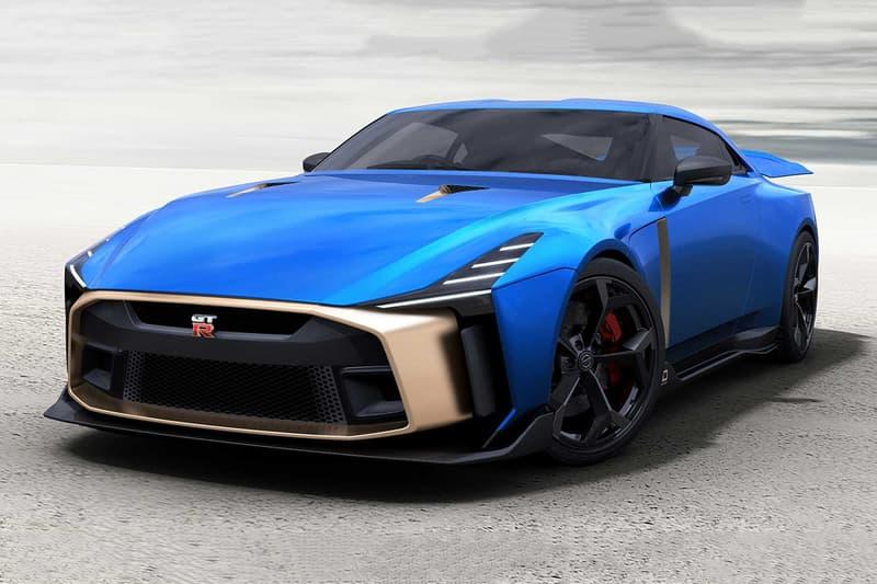 日産 GT-R イタルデザイン Nissan GT-R50 by Italdesign 市販 価格 デザイン インテリア エクステリア カラー ボディ 色 サイト