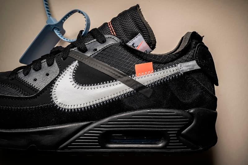 """オフホワイト x ナイキ ヴァージル・アブロー virgil abloh Off-White™️ x Nike による Air Max 90 """"Black"""" の発売情報をキャッチ"""