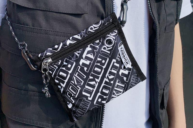 ロキット メディコムトイ メディコム ファブリック コラボレーション バッグ ROKIT x Medicom Toy Fabrick Bag Collection