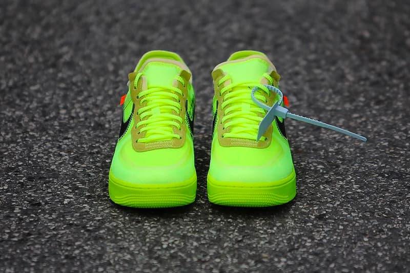 Off-White™ x Nike Air Force 1 新色2型の発売情報が解禁