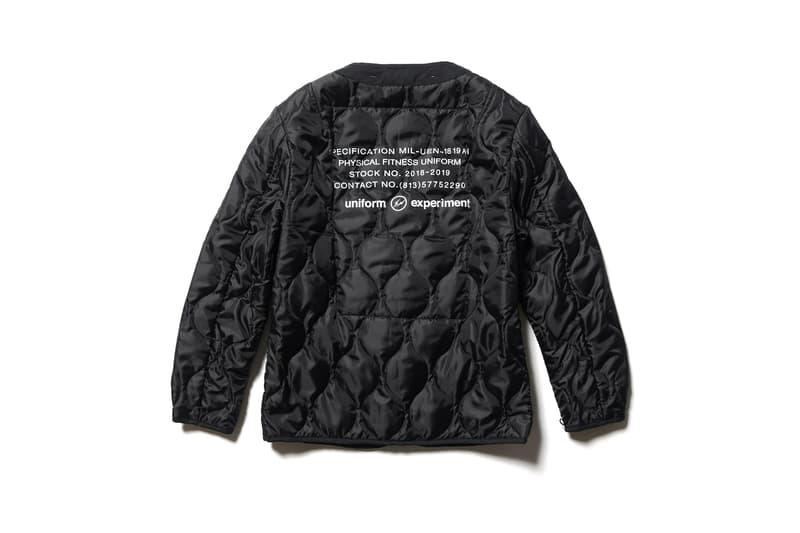 uniform experiment 2019年 初売り アイテム Alpha Industries コラボ モッズコート