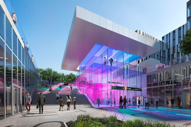 ザハ・ハディッド・アーキテクト ノルウェー オスロ ステーション アーキテクト Zaha Hadid Architects Oslo Metro Stations Design a_lab architecture norway Fornebu Senter Fornbuporten stations renderings