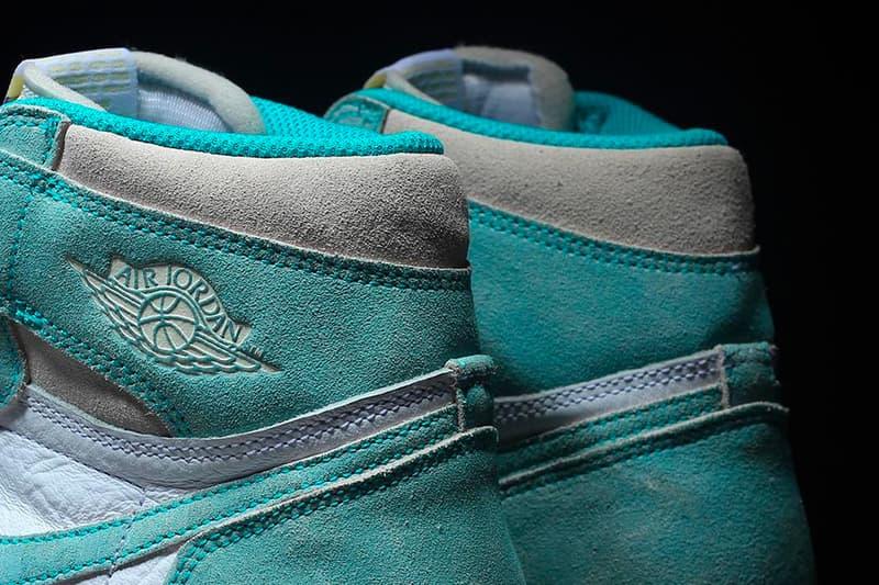 エアジョーダン 1 ナイキ 発売日 Air Jordan 1 AJ1 SNKRS Turbo Green 2019 Release Info kicks footwear oldschool Chicago Nike Air swoosh Michael Jordan bulls 23  555088 311 grey gray sail white purple yellow hi high og retro sail white
