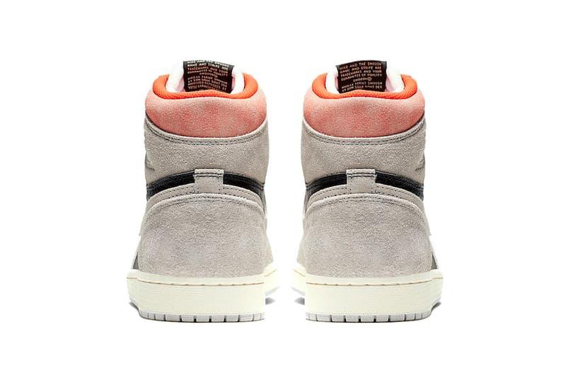 ナイキ エアジョーダン 1 レトロハイ air jordan 1 retro high og neutral grey hyper crimson white black 2019 january footwear jordan brand