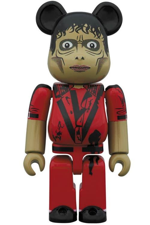 メディコムトイ マイケル・ジャクソン スリラー ベアブリック Michael Jackson Thriller Red Jacket Bearbrick info details january 2019 price cost information medicom toy