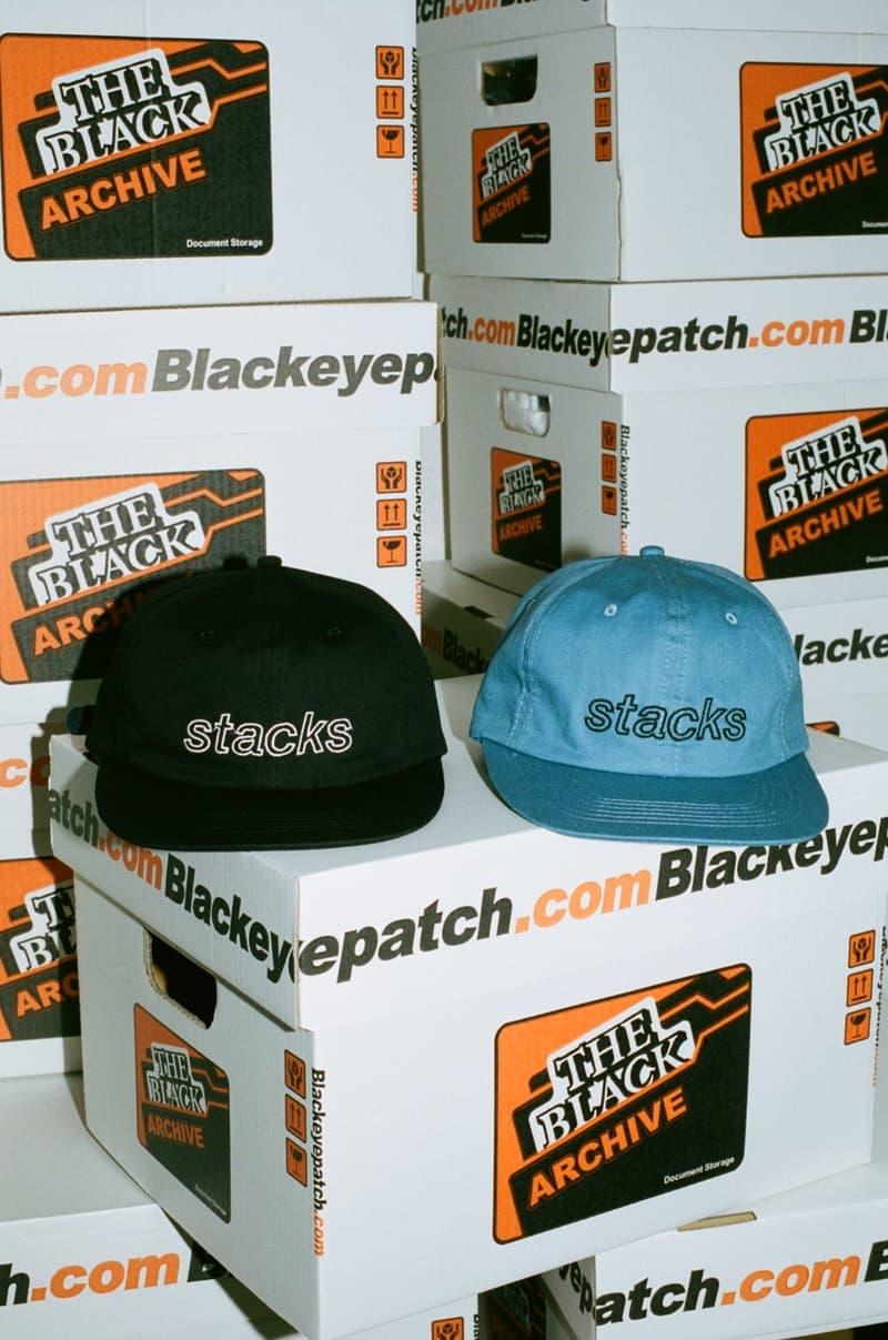 BlackEyePatch ブラックアイパッチ stacks アート zine BEP オンライン フーディ パーカー Tシャツ キャップ