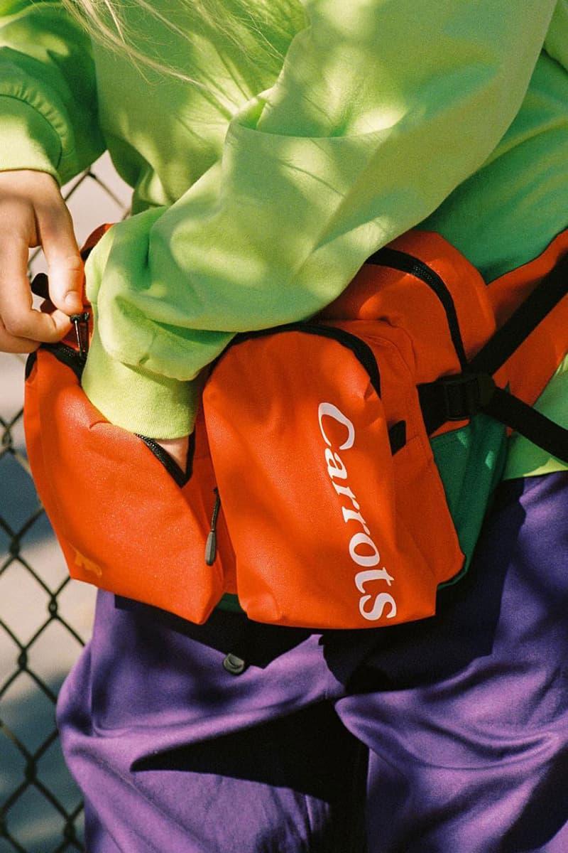 エクストララージ キャロッツ オンライン コラボ XLARGE Carrots by Anwar Carrots アノラック ウェストバッグ