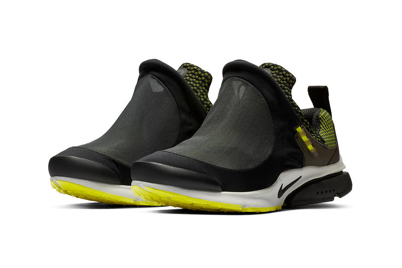 コム デ ギャルソン x ナイキ エア プレスト フット テント COMME des GARÇONS Homme Plus x Nike による新作コラボ Air Presto Foot Tent の発売情報をキャッチ