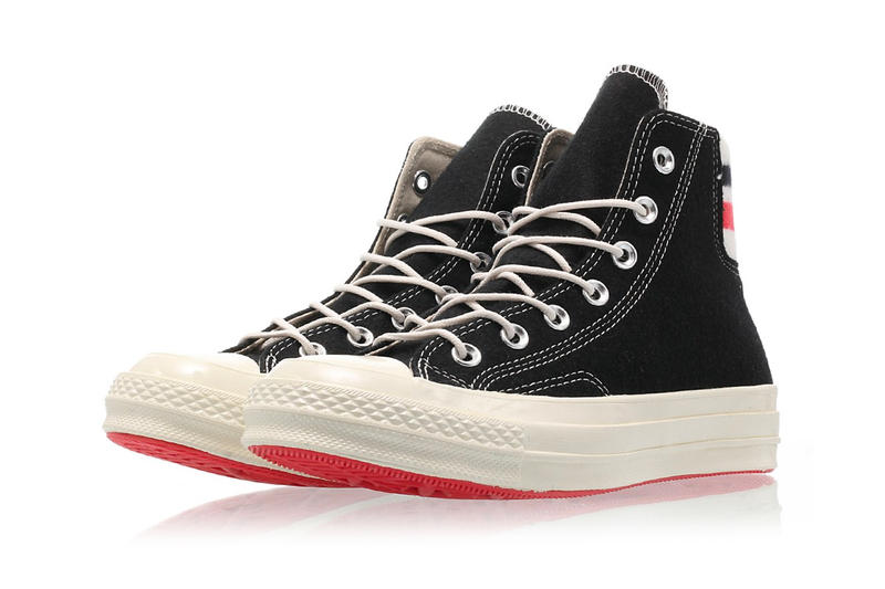 コンバース オールスター New Converse ChuckTaylor 70 With Retro Basketball Feels black white footwear high top sneakers drop release date price images
