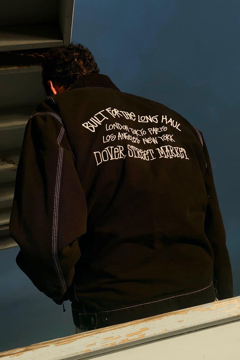 Dover Street Market los Angeles Stussy Carhartt WIP Tommy Boy Jacket Release Date info Detroit