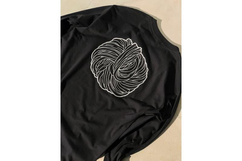 麺散 Tシャツ フラグスタフ コラボ うどん 原宿 ランチ F-LAGSTUF-F VERDY