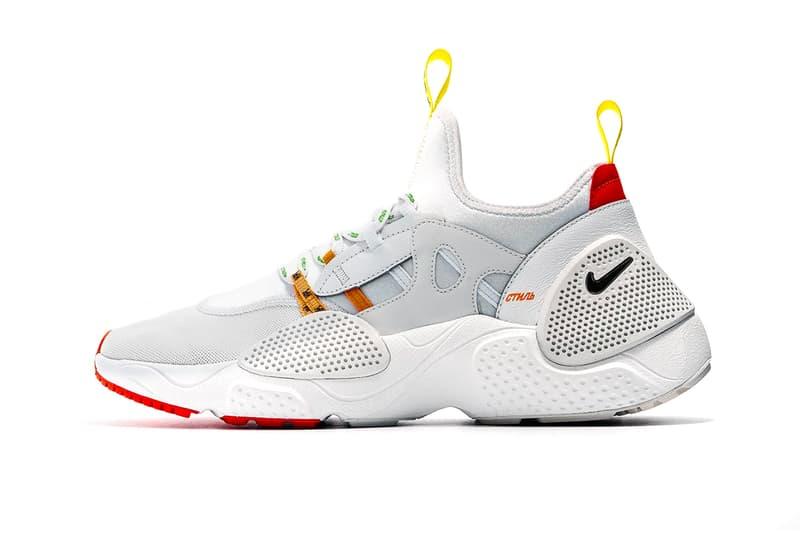 ヘロンプレストン ナイキ エア ハラチ エッジ コラボ コラボレーション heron preston nike huarache edge first look 2019 footwear february