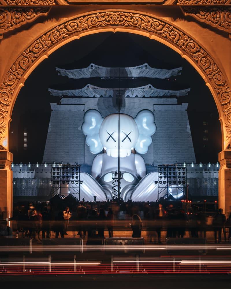 カウズ コンパニオン パブリックアート 巨大コンパニオン 台湾 台北 KAWS 'KAWS:HOLIDAY' Sculpture Taipei Taiwan
