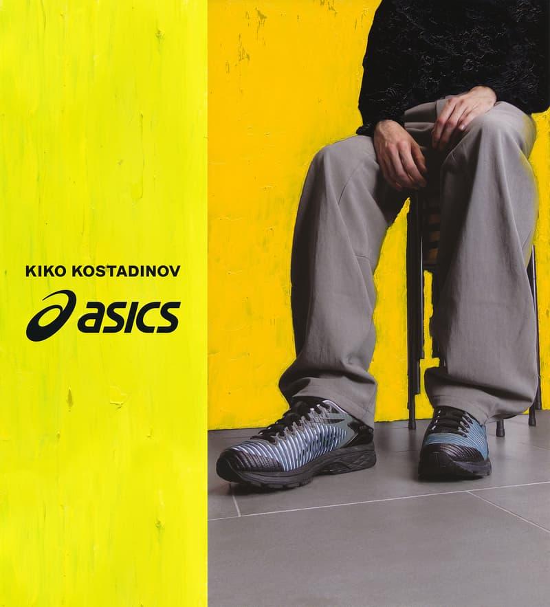 キコ コスタディノフ アシックス ゲルデルバ コラボ スニーカー オンライン 発売日 Kiko Kostadinov ASICS GEL-Delva 取扱