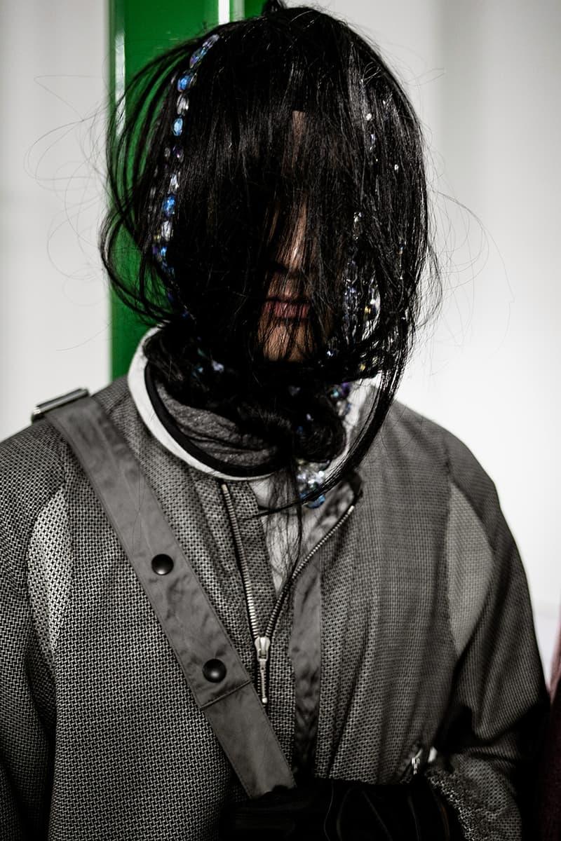 キコ・コスタディノフ アシックス Kiko Kostadinov asics ロンドンファッションウィーク 2019年秋冬 LFW バックステージ コラボレーション