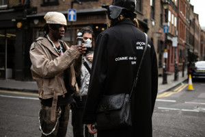 Streetsnaps:London Fashion Week Men's Fall/Winter 2019