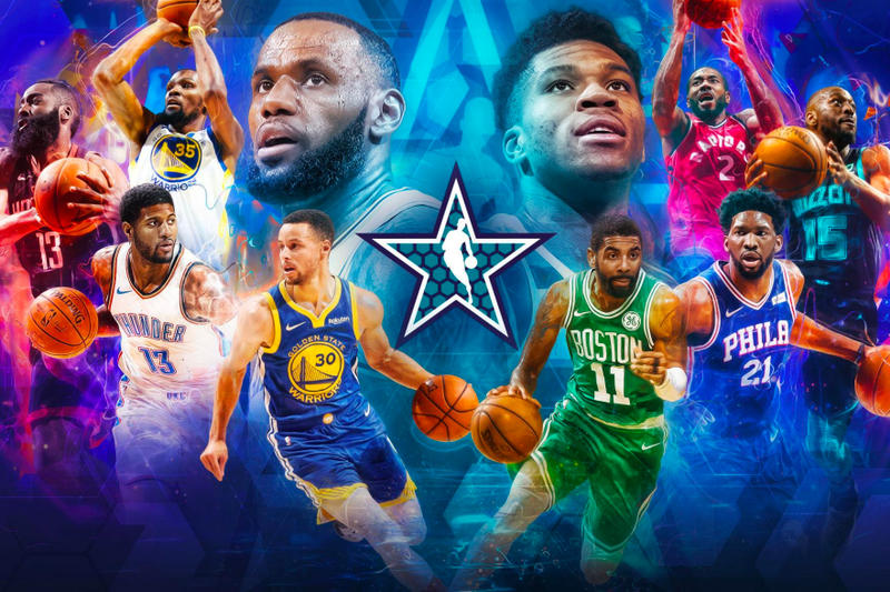 2019年 NBA オールスター NBA LeBron James Milwaukee Bucks Giannis Antetokounmpo