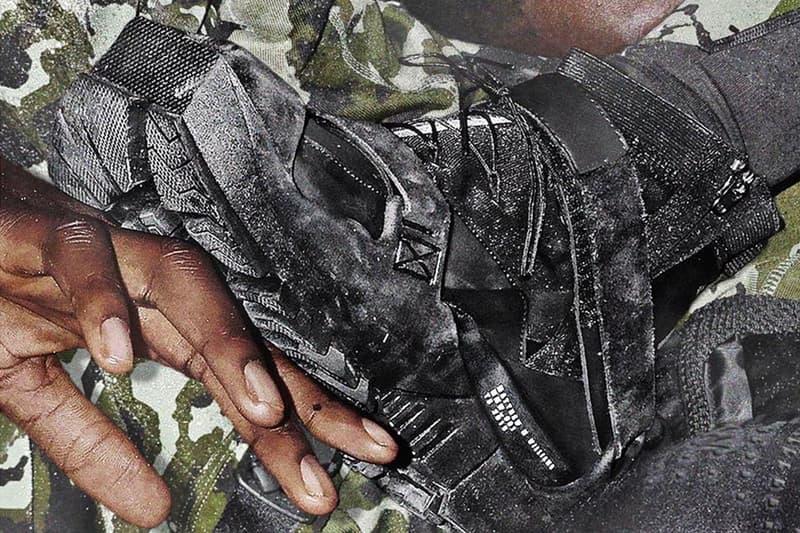 アリクス ナイキ matthew m williams nike collaboration running trail sneaker teaser first look white black colorway strap vibram outsole 3d
