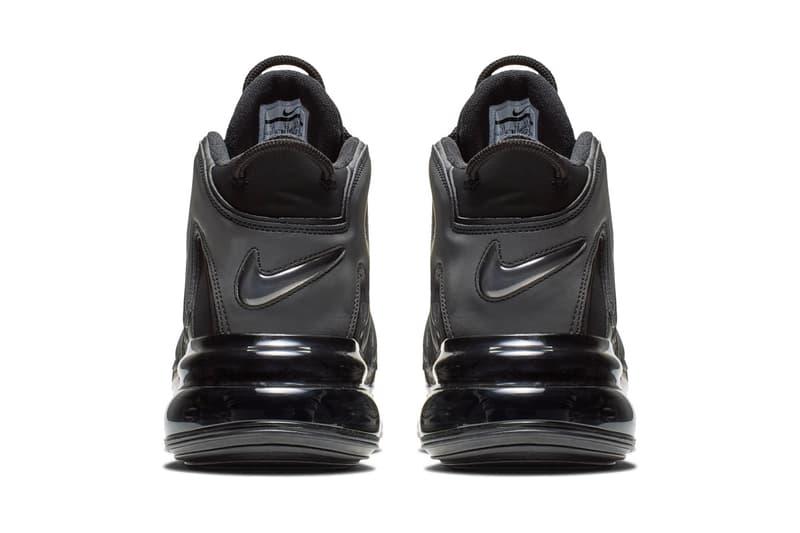 ナイキ エア モア アップテンポ ピッペン Nike Air More Uptempo 720 QS Official Look Release Info Date black