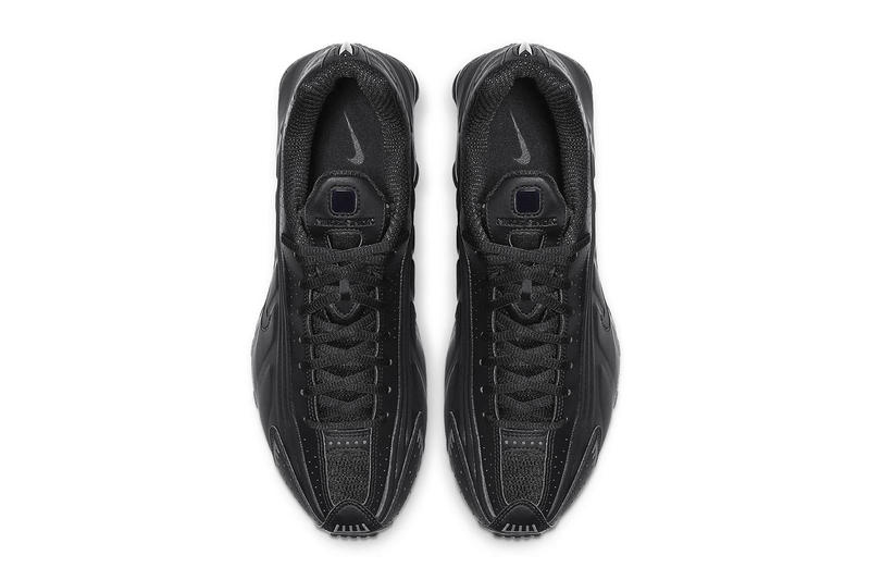 "ナイキ Nike Shox R4 ""Triple Black"" Release Info pricing stockist date web store BV1111-001"