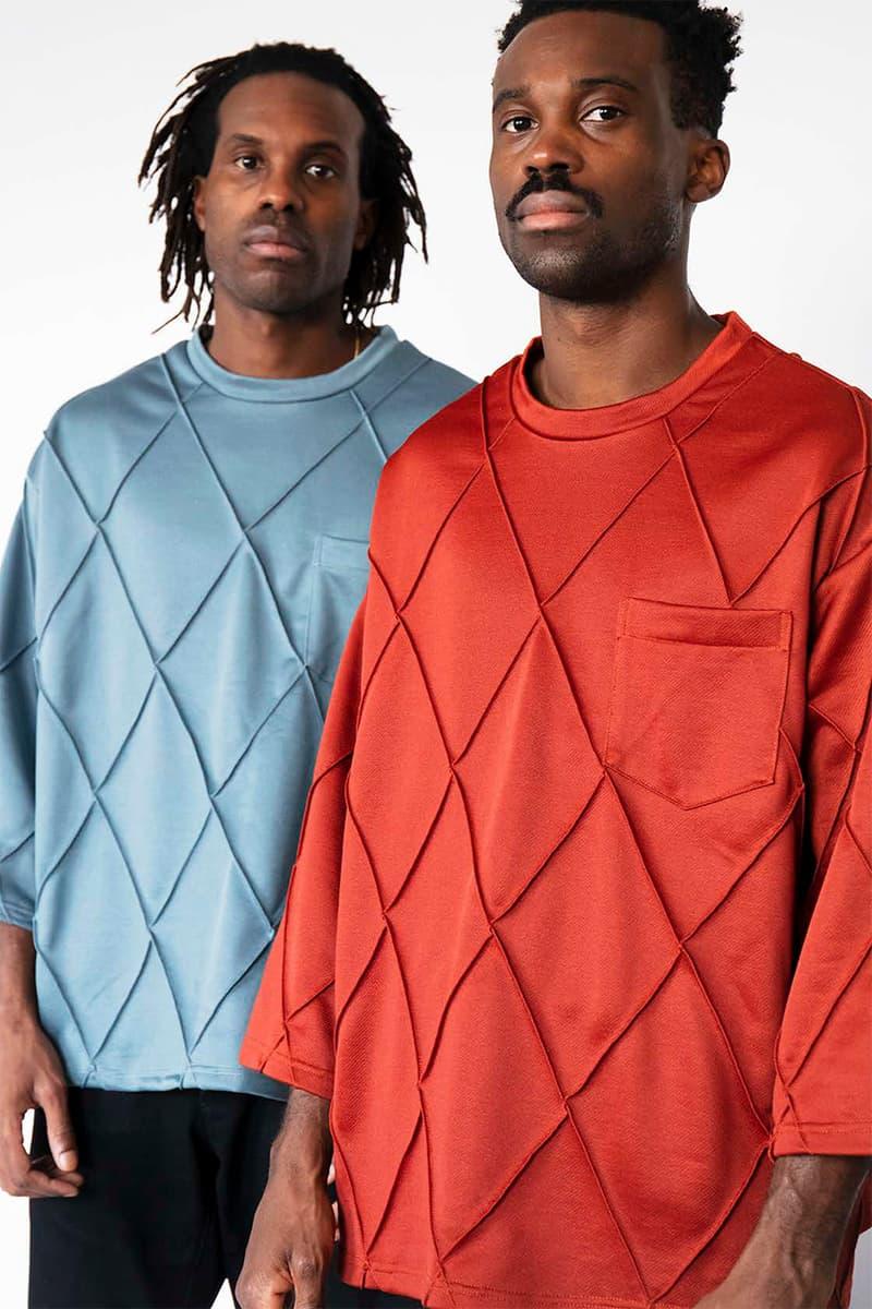 """ノーマティーディー NOMA t.d. """"Harmony"""" Fall Winter 2019 Lookbook ルックブック 秋冬 コレクション Collection First Look Tie Dye Embroidery Jacquard Reversible Amazon Tokyo Fashion Week"""