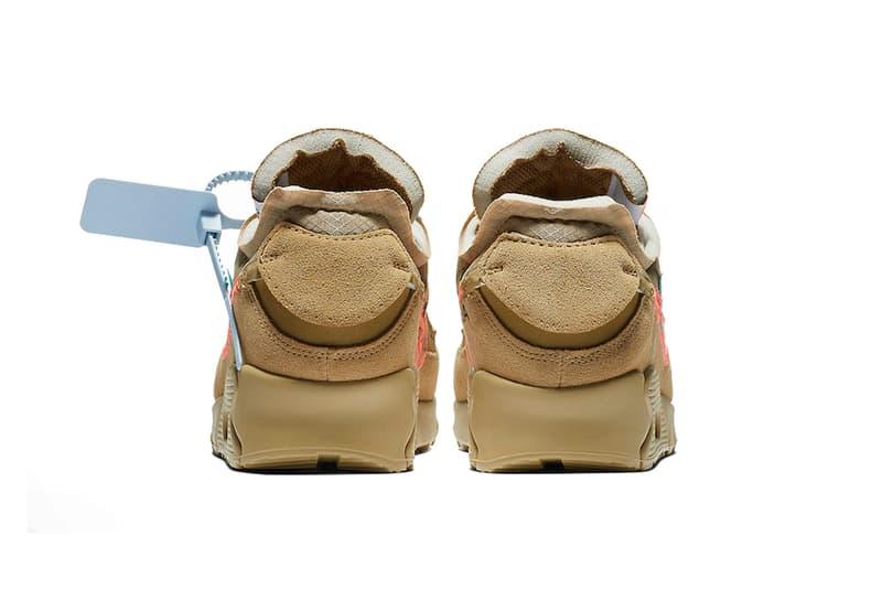 """オフホワイト x ナイキ エアマックス 90 """"Desert Ore""""の発売情報が解禁 Off-White™ x Nike Air Max 90 """"Desert Ore"""" の発売情報が解禁"""