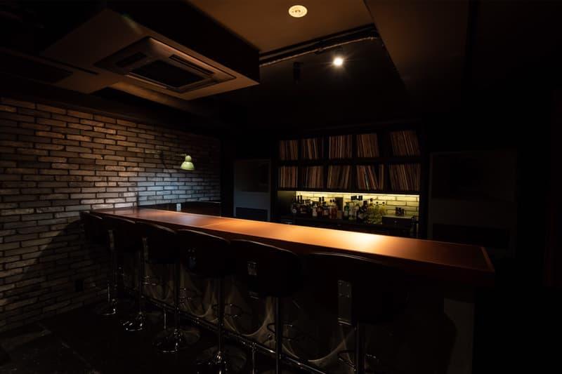 analog アナログ レコード 渋谷 bAR バー