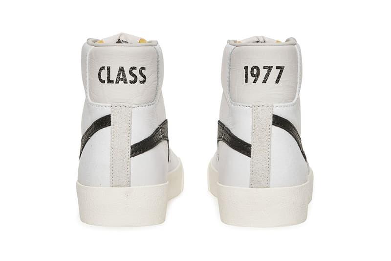 """ナイキ ブレーザー スラム ジャム Slam Jam 30周年を祝うスウッシュを反転させた Blazer """"Class 1977"""""""