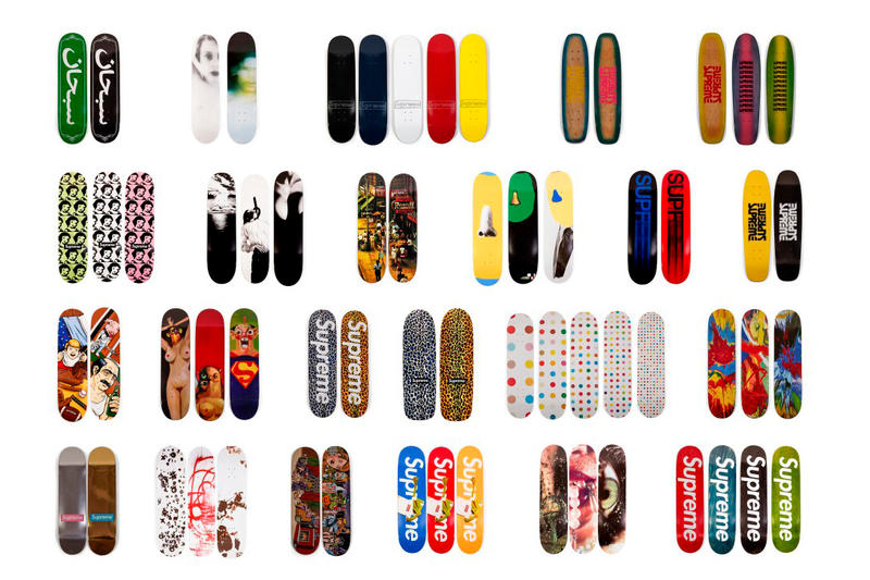 シュプリーム Supreme Skate Deck Sotheby's Auction skateboarding Ryan Fuller louis vuitton akira スケート スケートボード デッキ スケボー ストリート