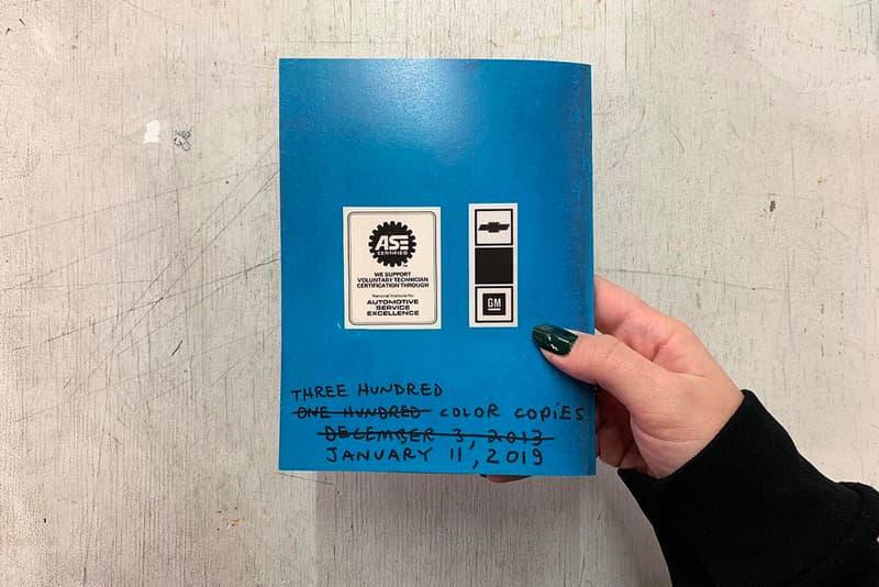 トム・サックス Tom Sachs Caprice Owners Manual Second Edition Release buy info details pages 2019 preview cover contents