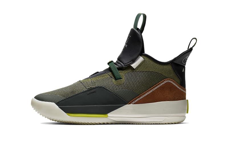 トラヴィス・スコット x エア ジョーダン travis scott air jordan 33 cactus jack 2019 footwear jordan brand