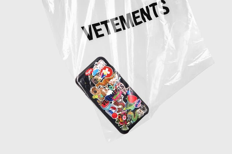ヴェトモン ケースティファイ VETEMENTS が LA 発のスマホケースブランド CASETiFY とタッグを組んだ iPhone ケースを発表