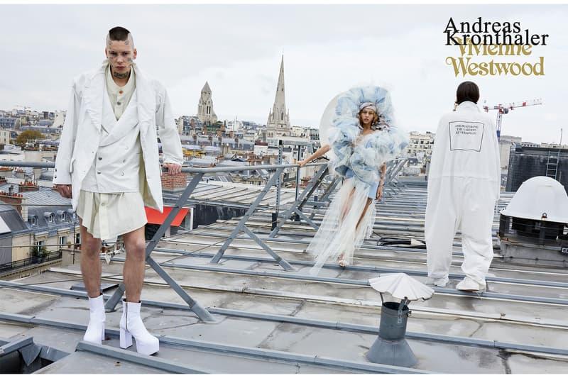 Vivienne Westwood Andreas Kronthaler Juergen Teller ユルゲン・テラー 2019年春夏 キャンペーンビジュアル パリ フランス アンドレアス・クロンターラー