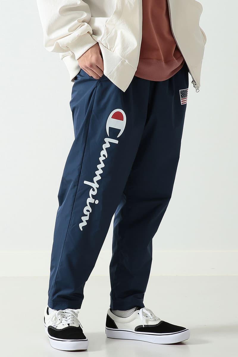 ビームス チャンピオン オンライン BEAMS Champion Japan Spring/Summer 2019 Collaboration capsule collection jacket sweater reverse weave february 2019 release date buy drop info sale