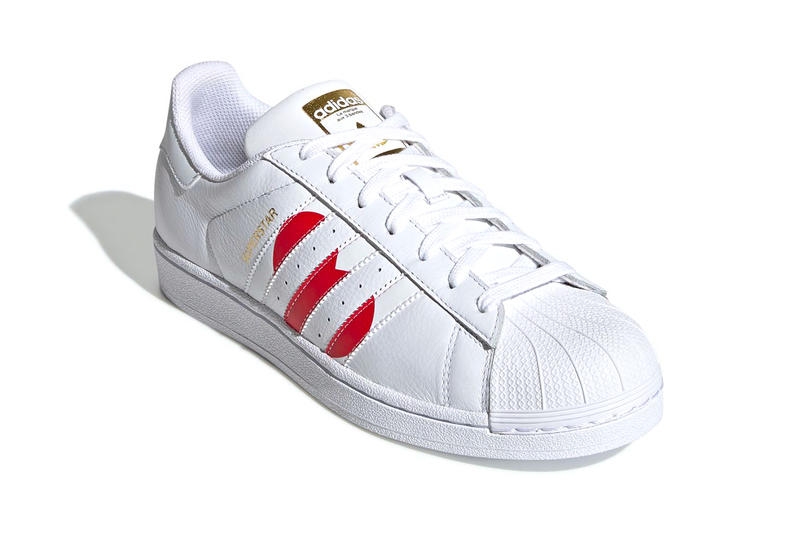 アディダス スーパースター バレンタイン モデル Adidas Superstar Valentines Day 2019 Info sneakers shoe fashion adidas originals Running White College Red Gold Met Date Release