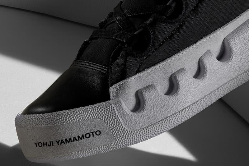 ヨウジ ヤマモト 山本耀司 アディダス ワイスリー スニーカー 新作adidas Y-3 KASABARU Trimm Trab 70s basketball shoes inspired three stripes Spring/Summer 2019 SS19