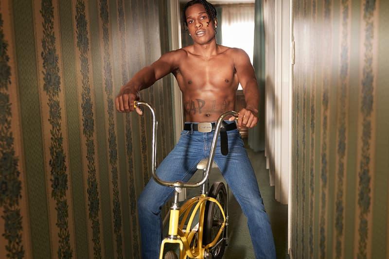 Calvin Klein カルバンクライン A$AP Rocky らエイサップ・ロッキー 2019年春 キャンペーン ビジュアル