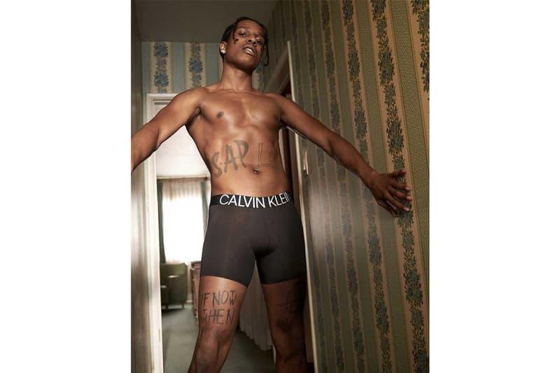 エイサップ ロッキー カルバン クライン カルバン クライン アンダーウエア  calvin klein spring underwear campaign asap rocky shawn mendes