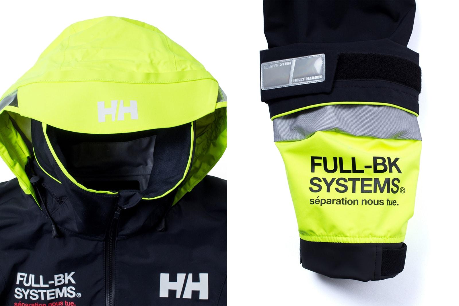 フルビーケー ヘリーハンセン 第2弾 コラボ カプセル コレクション FULL-BK HELLY HANSEN  yentown lzm awitch daruma