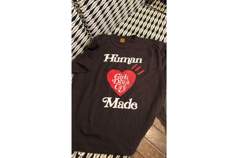 ガールズドントクライ ヒューマンメイド Girls Don't Cry  HUMAN MADE NIGO t-shirt black and white Paulo Wallo Rare Panther  VERDY ヴェルディ  コラボレーション Tシャツ the internet stevelacy
