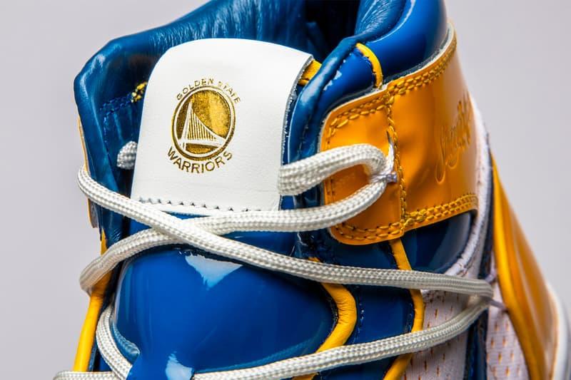 ウォリアーズ シューサージョン The Shoe Surgeon Golden State Warriors Nike Collaboration Teaser Air Jordan 1 Force Dunk Blue Gold Stephen Curry
