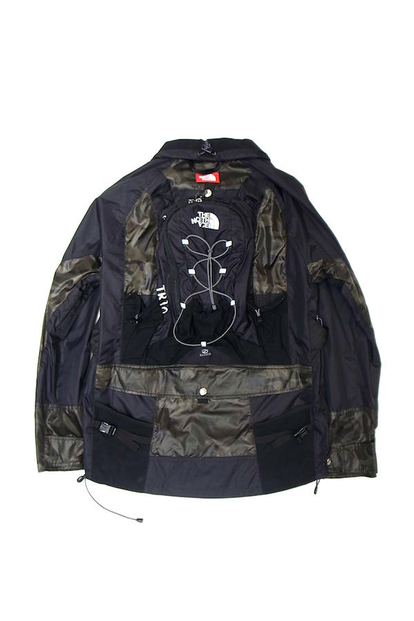 ジュンヤワタナベ コム・デ・ギャルソン ザ・ノース・フェイス カリマー Junya Watanabe The North Face Karrimor SS19 backpack jacket reversible overshirt coaches camouflage safety orange transformable coat