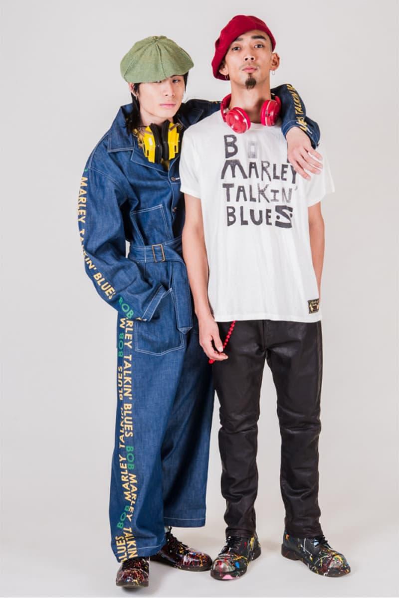 キャピタルがボブ・マーリーに捧げるコラボコレクションを発表 KAPITAL SINGS BOB MARLEY TALKIN'BLUES COLLECTION