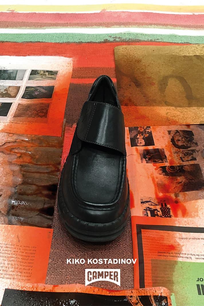 キココスタディノフ  カンペール コラボレーション シューズ Kiko Kostadinov Camper Together SS19 spring summer 2019 Footwear collaboration collection drop release date info colorways Teix 1997 model release date february 2019 drop info buy