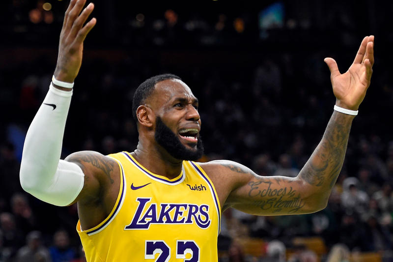 NBA レイカーズ レブロン・ジェームズ LeBron James lakers espn HYPEBEAST ハイプビースト