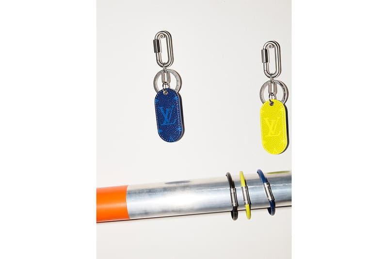 ルイヴィトン バッグ コレクション タイガレザーLouis Vuitton Debuts Taïgarama Leather Goods Line virgil abloh bags accessories lv blue yellow black white backpacks sidebags luggage