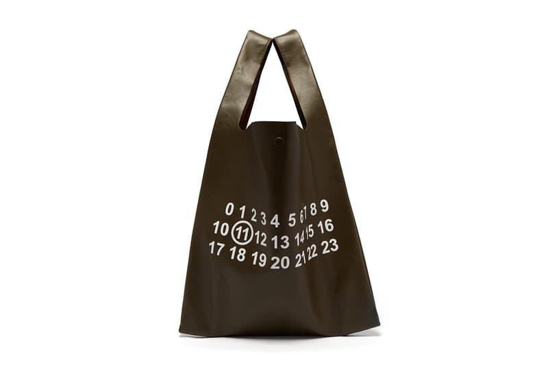 メゾン マルジェラ トートバッグ バッグ プレミアムレザー Maison Margiela Leather Logo Print Tote Bag Release