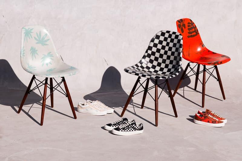 ヴァンズ モダニカ シェルチェア modernica vans vault collaboration eiffel side shell chair old skool