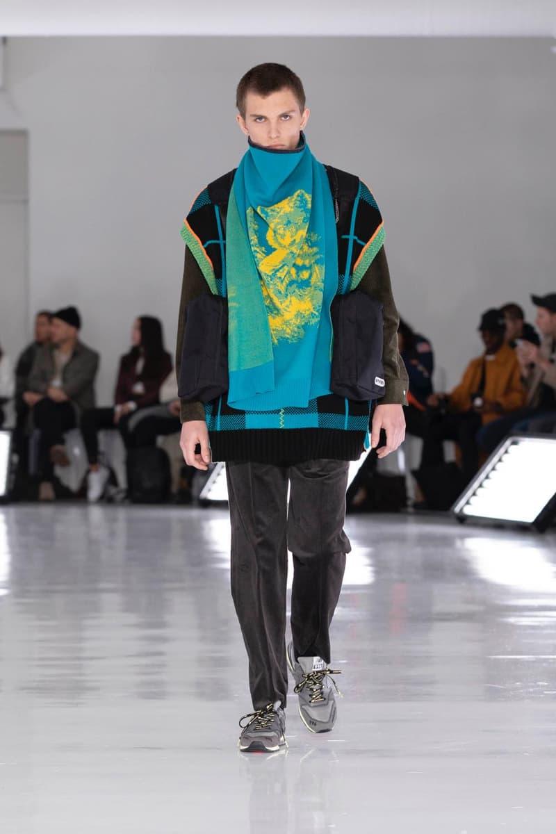 N.HOOLYWOOD エヌハリウッド 2019年秋 コレクション フォール FALL ニューヨーク ファションウィーク ランウェイ new Balance Converse Addict