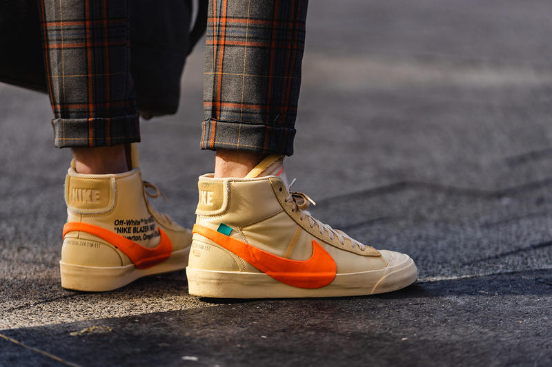 ニューヨーク メンズ ファッションウィーク 秋冬 ストリートスナップ ハイプビースト New York Fashion Week FW19 fall winter 2019 city Street Style Snaps outfits photograph calvin klein dior nike air max tn tuned palm angels louis vuitton off white blazer puma ader error prada 18 east